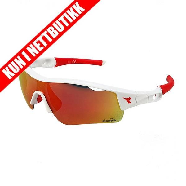 Bilde av Multisport brille - hvit/rød